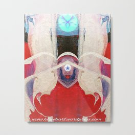 The Communicator Metal Print