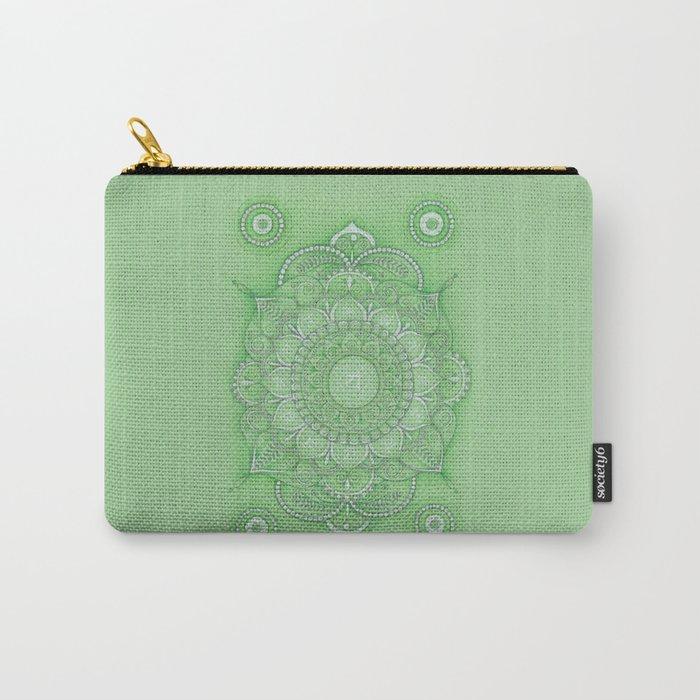 mandala Chakra Anahata Carry-All Pouch