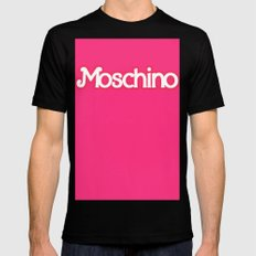 Moschino Barbie MEDIUM Mens Fitted Tee Black