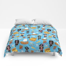 Ahoy Matey! Kids Pirate Treasure Hunt Comforters
