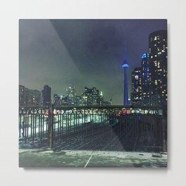 Toronto tracks Metal Print