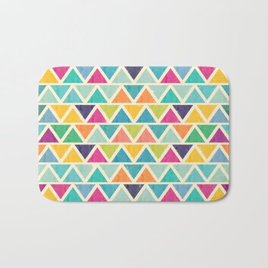Lovely geometric Pattern II Bath Mat