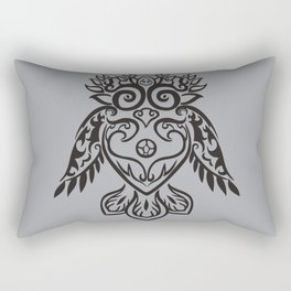 Forest Owl Rectangular Pillow