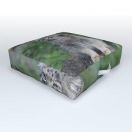 Wild Cat Outdoor Floor Cushion