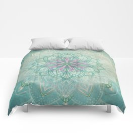 Mermaid Mandala Comforters