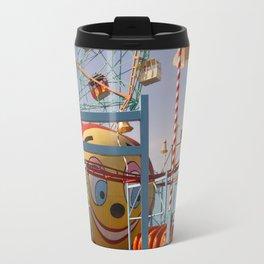 coney island fairground Metal Travel Mug