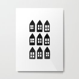 Tiny Houses Metal Print