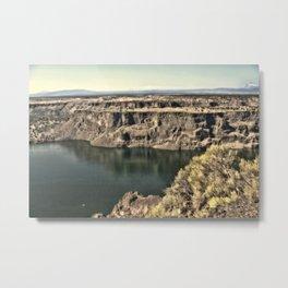 Lake Billy Chinook Metal Print