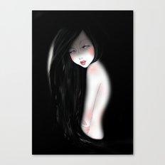 The dark night Canvas Print