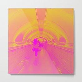 Underground Sunrise Metal Print
