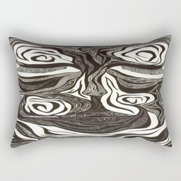 Peace Within The Battle Rectangular Pillow