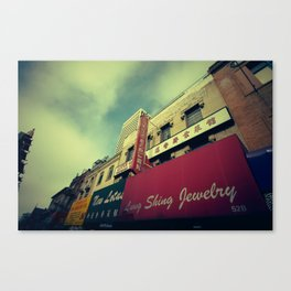 Chinatown Canvas Print
