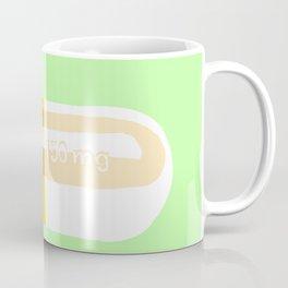 Happy Pill Mint Coffee Mug
