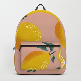 Pink Zest Backpack