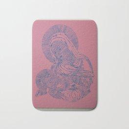 Pink Madonna Bath Mat