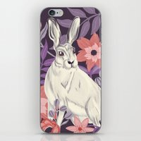 hare iPhone & iPod Skins featuring Hare by Abbie Imagine