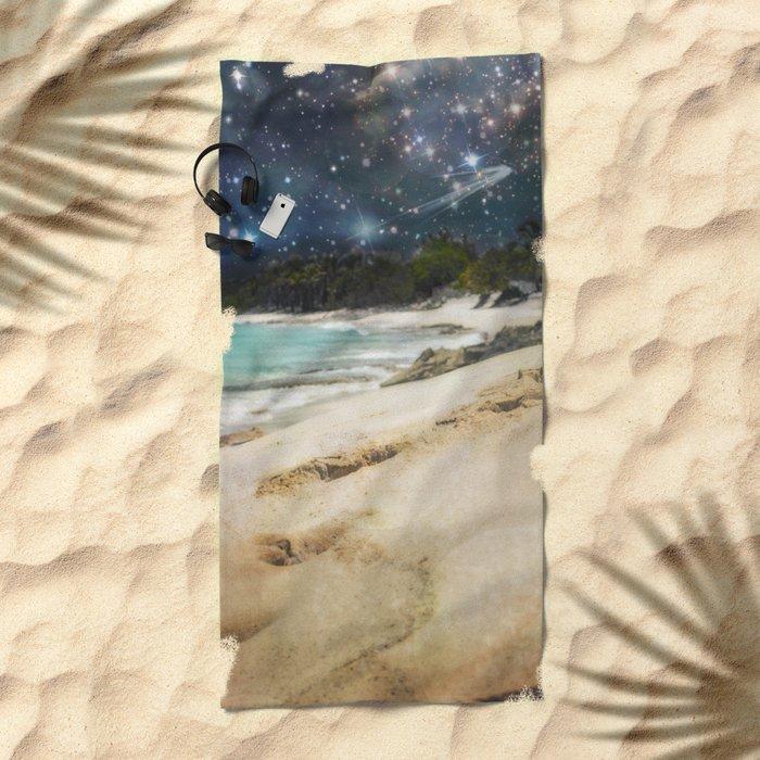 Midnight Beach Beach Towel