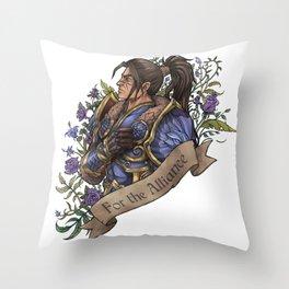 My King Throw Pillow