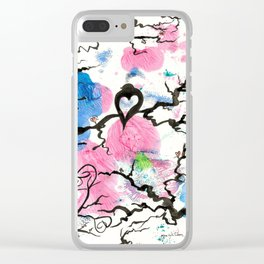 Emptiness Clear iPhone Case