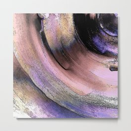 Textured Tunnel Abstract Metal Print