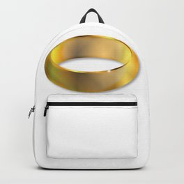 Bright Golden Ring Backpack