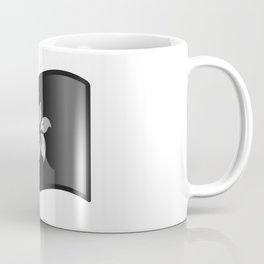 Waving Black Bauhinia Flag Coffee Mug