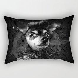 Bad Chihuahua Rectangular Pillow