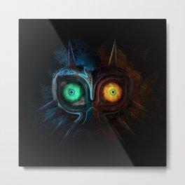 Majora Mask  Metal Print