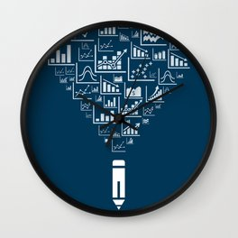 Pencil the schedule Wall Clock