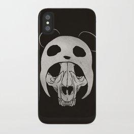 Panda Skull iPhone Case