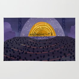 Hollywood Bowl Rug
