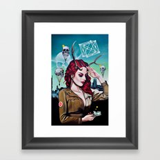 Miss B Haven Framed Art Print