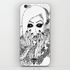 goth love iPhone & iPod Skin