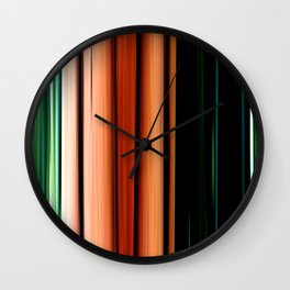 What I Did On Sunday Wall Clock