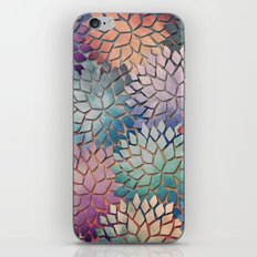 Abstract Floral Petals 4 iPhone & iPod Skin