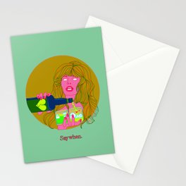 SAY WHEN! Stationery Cards