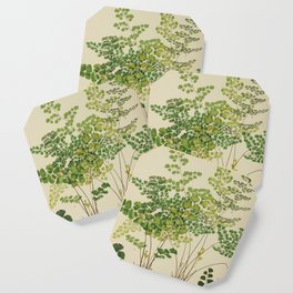 Maidenhair Ferns Coaster