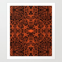 Lace variation 02 Art Print