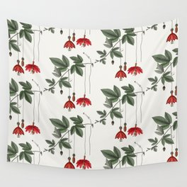 Banana Passionfruit Wall Tapestry