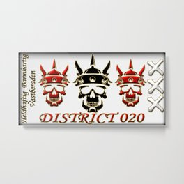District020 warriors Metal Print