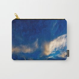 Glowing Acrylic Clouds Carry-All Pouch