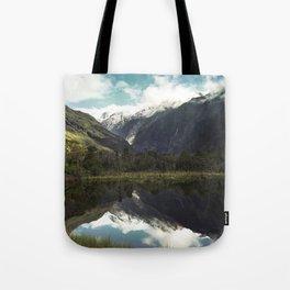 (Franz Josef Glacier) Where the snow melts Tote Bag