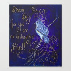 Dream Big I Canvas Print