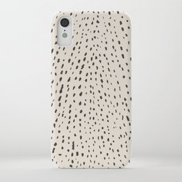 Silver Fawn Spots iPhone Case