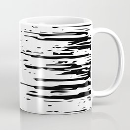 Splash Black and White Coffee Mug
