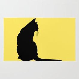 Cat's silhouette Rug
