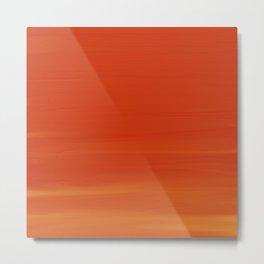 Orange Acrylic Metal Print
