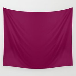 Rich Plum Pie Pudding Trendy Fashion Solid Color Wall Tapestry