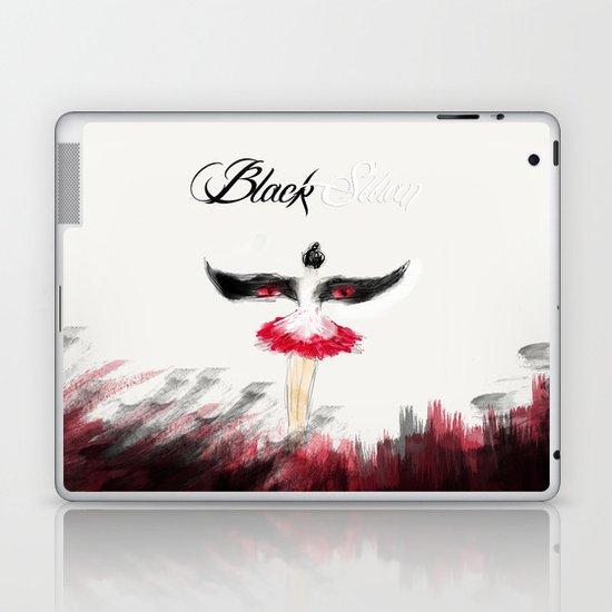 Black Swan V Laptop & iPad Skin