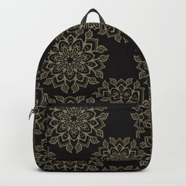 Boho Flourish Ornamental Arabesque Backpack